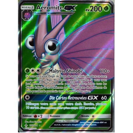 carte Pokémon 193/214 Aéromite GX SL10 - Soleil et Lune - Alliance Infaillible NEUF FR