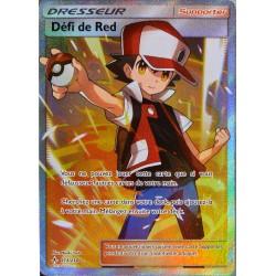 carte Pokémon 213/214 Défi de Red SL10 - Soleil et Lune - Alliance Infaillible NEUF FR