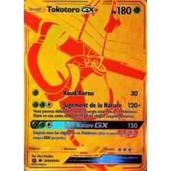 carte Pokémon SV91/68 Tokotoro GX 180 PV - SECRETE FULL ART SL11.5 - Soleil et Lune - Destinées Occultes NEUF FR