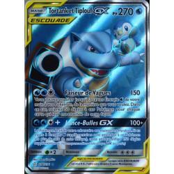 carte Pokémon 214/236 Tortank & Tiplouf GX (Escouade) SL12 - Soleil et Lune - Eclipse Cosmique NEUF FR
