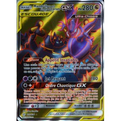 carte Pokémon 223/236 Mandrillon & Engloutyran GX (Escouade) SL12 - Soleil et Lune - Eclipse Cosmique NEUF FR