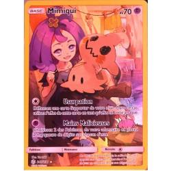 carte Pokémon 245/236 Mimiqui SL12 - Soleil et Lune - Eclipse Cosmique NEUF FR