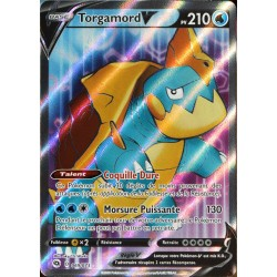 carte Pokémon 069/073 Torgamord V ★U EB3.5 La Voie du Maître NEUF FR