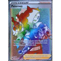 carte Pokémon 078/073 Peterson ★A EB3.5 La Voie du Maître NEUF FR
