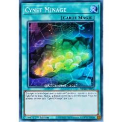 carte YU-GI-OH MP20-FR072 Cynet Minage Super Rare NEUF FR