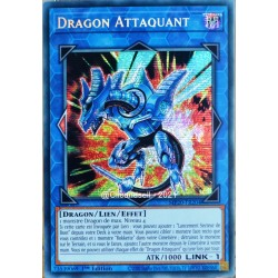 carte YU-GI-OH MP20-FR204 Dragon Attaquant Prismatic Secret Rare NEUF FR