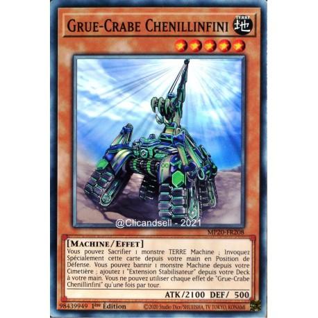 carte YU-GI-OH MP20-FR208 Grue-Crabe Chenillinfini Commune NEUF FR