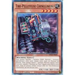 carte YU-GI-OH MP20-FR209 Tire-Pelleteuse Chenillinfini Commune NEUF FR