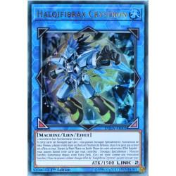 carte YU-GI-OH DUOV-FR001 Halqifibrax Crystron Ultra Rare NEUF FR