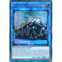 carte YU-GI-OH DUOV-FR009 Transporteur Union Ultra Rare NEUF FR