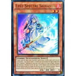 carte YU-GI-OH MP16-FR199 Épée-Spectre Shiranui (Shiranui Spectralsword) -Ultra Rare NEUF FR