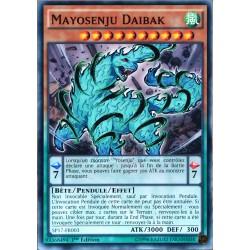 carte YU-GI-OH SP17-FR003 Mayosenju Daibak (Mayosenju Daibak) -Commune NEUF FR