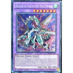 carte YU-GI-OH MP16-FR139 Dragon du Vortex aux Yeux Impairs (Odd-Eyes Vortex Dragon) -Secret Rare NEUF FR