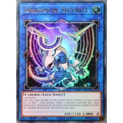 carte YU-GI-OH DUPO-FR037 Dragon de Sécurité (Security Dragon) -Ultra Rare NEUF FR