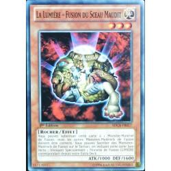 carte YU-GI-OH SDCR-FR017 La Lumière - Fusion Du Sceau Maudit (The Light - Hex-sealed Fusion) -Commune NEUF FR