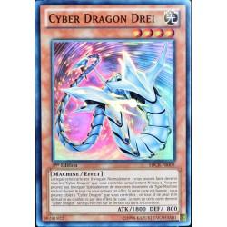 carte YU-GI-OH SDCR-FR002 Cyber Dragon Drei (Cyber Dragon Drei) -Super Rare NEUF FR
