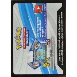 carte Pokémon FRGZDGX JCC Pokémon - Coffret Engloutyran-GX Codes NEUF FR