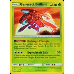 carte Pokémon 9/73 Genesect Brillant SL3.5 Légendes Brillantes NEUF FR