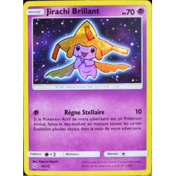 carte Pokémon 42/73 Jirachi Brillant SL3.5 Légendes Brillantes NEUF FR
