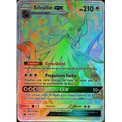 carte Pokémon 119/111 Silvallié GX SL4 - Soleil et Lune - Invasion Carmin NEUF FR