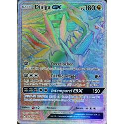 carte Pokémon 164/156 Dialga GX SL5 - Soleil et Lune - Ultra Prisme NEUF FR