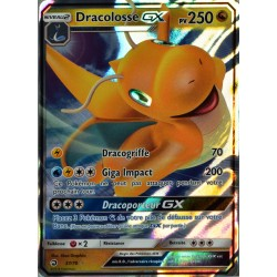 carte Pokémon 37/70 Dracolosse GX 250 PV SL7.5 - Majesté des Dragons NEUF FR