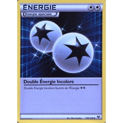 carte Pokémon 130/146 Double Énergie Incolore XY NEUF FR