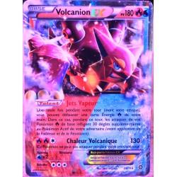 carte Pokémon 26/114 Volcanion EX 180 PV XY - Offensive Vapeur NEUF FR