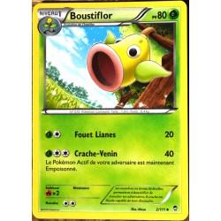 carte Pokémon 2/111 Boustiflor 80 PV   XY03 XY Poings Furieux NEUF FR