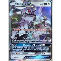 carte Pokémon 184/236 Silvallié GX SL12 - Soleil et Lune - Eclipse Cosmique NEUF FR
