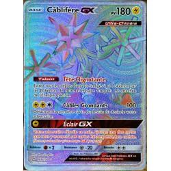 carte Pokémon 160/156 Câblifère GX SL5 - Soleil et Lune - Ultra Prisme NEUF FR