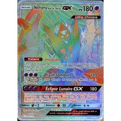 carte Pokémon 161/156 Necrozma Ailes de l'Aurore GX SL5 - Soleil et Lune - Ultra Prisme NEUF FR