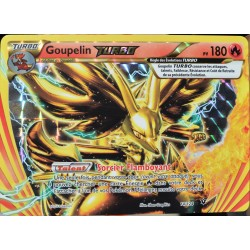 carte Pokémon 14/124 Goupelin Turbo 180 PV XY - Impact des Destins NEUF FR