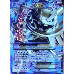 carte Pokémon 109/114 Méga Steelix EX (Shiny) 240 PV - FULL ART XY - Offensive Vapeur NEUF FR