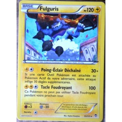 carte Pokémon 33/111 Fulguris 120 PV RARE XY03 XY Poings Furieux NEUF FR