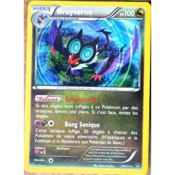 carte Pokémon 77/111 Bruyverne 100 PV RARE XY03 XY Poings Furieux NEUF FR