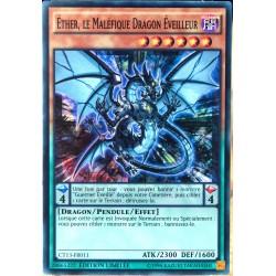 carte YU-GI-OH CT13-FR011 Ether, le Maléfique Dragon Eveilleur Super Rare NEUF FR