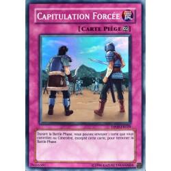 carte YU-GI-OH DP09-FR029 Capitulation Forcée (Scrubbed Raid) -Super Rare NEUF FR