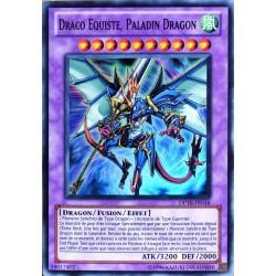 carte YU-GI-OH DP10-FR016 Draco Equiste, Paladin Dragon (Dragon Knight Draco-equiste) -Super Rare NEUF FR