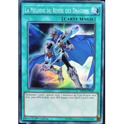 carte YU-GI-OH MP16-FR041 La Mélodie du Réveil des Dragons (The Melody of Awakening Dragon) -Super Rare NEUF FR