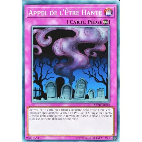carte YU-GI-OH YSYR-FR042 Appel De L'être Hanté (Call Of The Haunted) -Commune NEUF FR