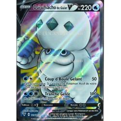 carte Pokémon 169/185 Darumacho de Galar-V ★U 220 PV EB04 - Épée et Bouclier – Voltage Éclatant NEUF FR