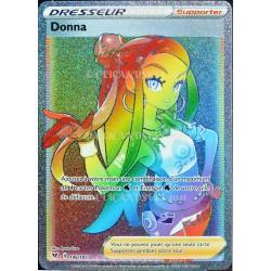 carte Pokémon 196/185 Donna EB04 - Épée et Bouclier – Voltage Éclatant NEUF FR
