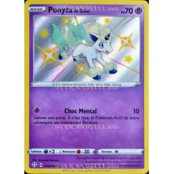 carte Pokémon SV047/SV122 Ponyta de Galar ★CH EB4.5 - Épée et Bouclier – Destinées Radieuses NEUF FR