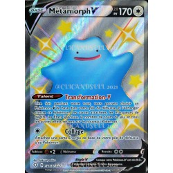 carte Pokémon SV118/SV122 Métamorph-V ★CH EB4.5 - Épée et Bouclier – Destinées Radieuses NEUF FR