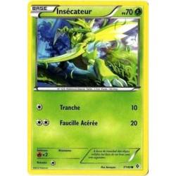 carte Pokémon 7/149 Insécateur 70 PV carte POKEMON Frontières Franchies NEUF FR