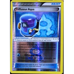 carte Pokémon 23/34 Diffuseur Aqua REVERSE Double Danger NEUF FR