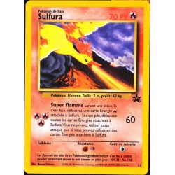 carte Pokémon P21 21 Sulfura 70 PV - ULTRA RARE SCELLEE Promo NEUF FR