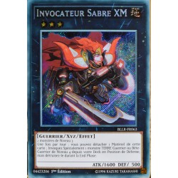 carte YU-GI-OH BLLR-FR063 Invocateur Sabre Xm Secret Rare NEUF FR