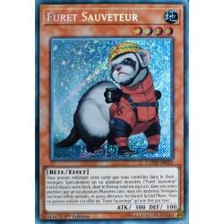 carte YU-GI-OH COTD-FR029 Furet Sauveteur Secret Rare NEUF FR